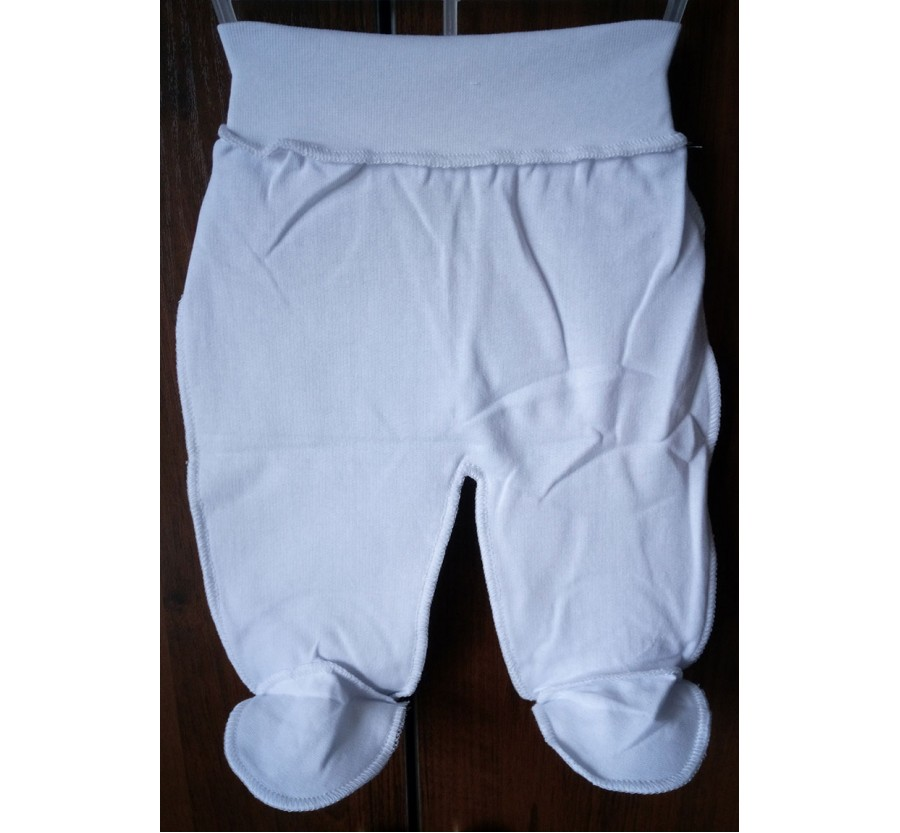 Ползунки Байка 56 см, цвет Белый