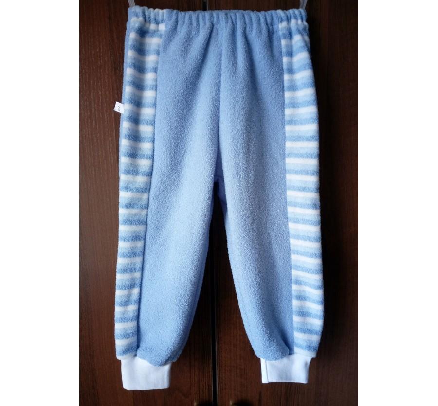 Штаны Махра с начёсом, Голубые (74 см), Бирюзовые (80 см)