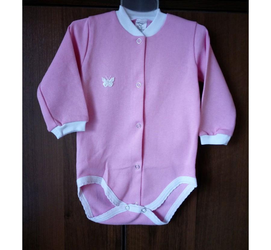 Боди ТМ Little angel, Интерлок 68 см, Розовый