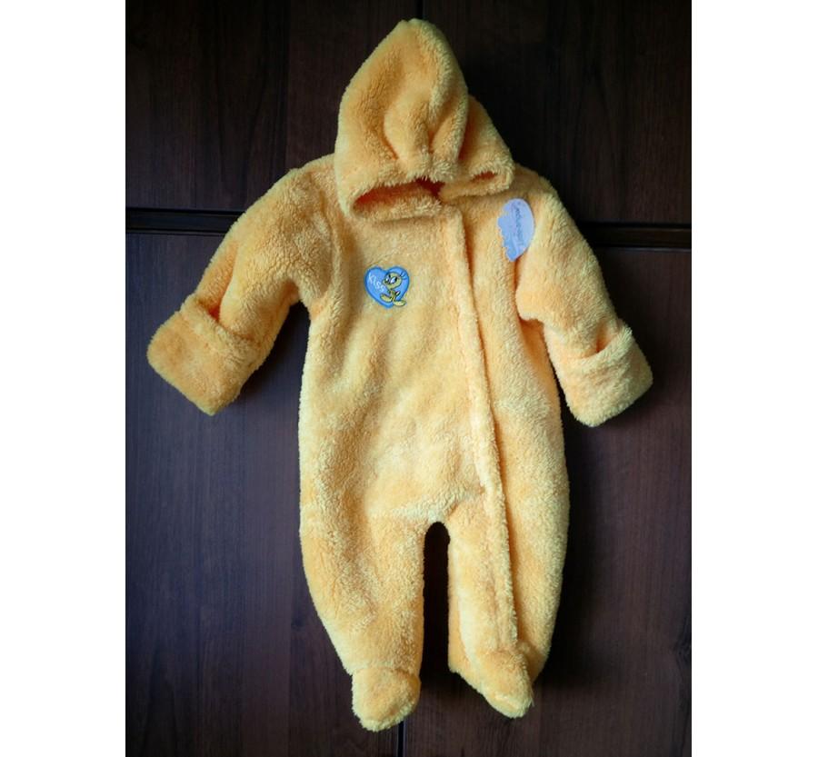 Человечек для новорождённых, Вельсофт, Жёлтый, 62 см (0-3мес)