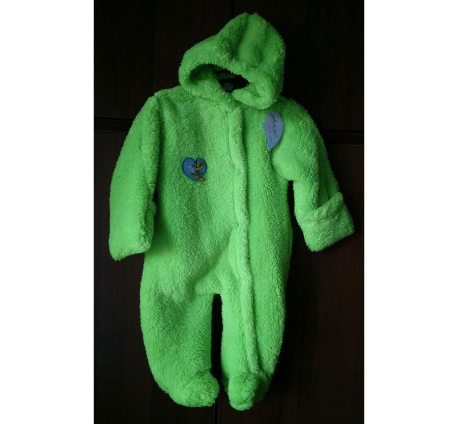 Человечек для новорождённых, Вельсофт, Зелёный, 62 см (0-3мес)