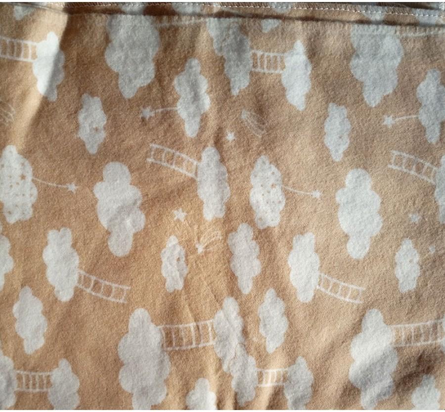 Пеленка байковая (фланелевая) 100х90 см ПЛ11