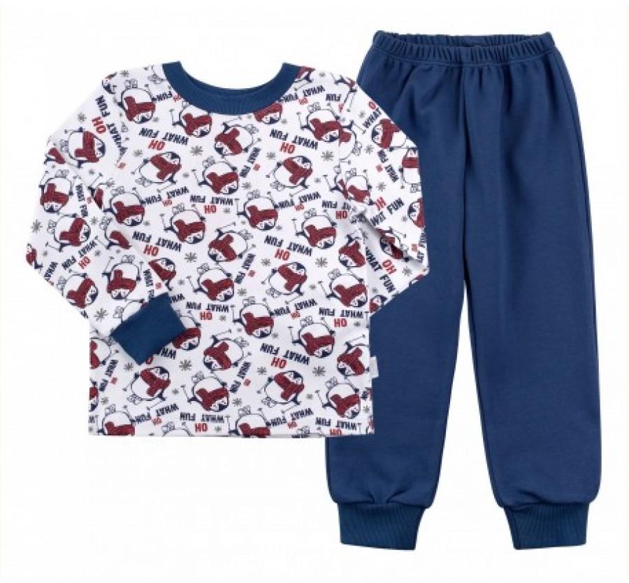 Детская пижама, Интерлок, для мальчика 80 см