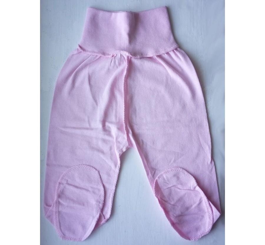 Ползунки, Кулир (тонкий Трикотаж хлопок 100%), 56 см, цвет Розовый