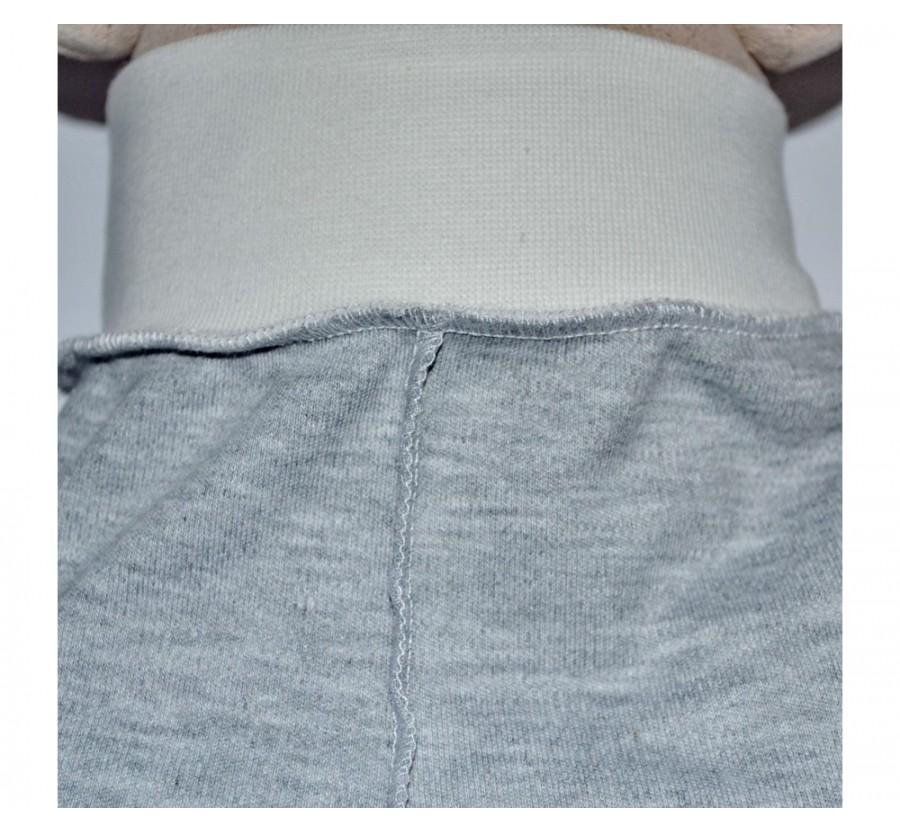 Ползунки Интерлок 56 см, цвет Серый